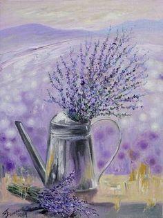 Lecture d'un message - mail Orange Lavender Cottage, Lavender Scent, Lavender Fields, Lavender Color, Lavender Flowers, Purple Flowers, Lavander, Provence Lavender, Abstract Watercolor