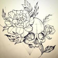 Картинки по запросу tattoo эскиз цветок
