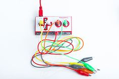 "Makey Makey is both fun and should break enough ""reality"" to inspire people to ""play around"" with regular objects to create new things. http://www.MaKeyMaKey.com"