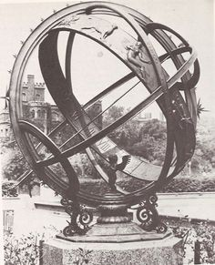 Noyes Armillary Sphere (ca. 1931) previously at Meridian Hill Park in Washington D.C. (no longer present) by Carl Paul Jennewein