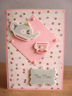 tea time card **