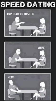Military speed dating