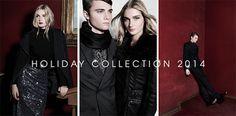 Jansen Fancher y Modesta Petkeviciute en el Holiday Collection de LOB 2014