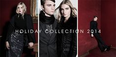 Jansen Fancher y Modesta Petkeviciute en el Holiday Collection de LOB 2014