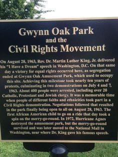 Image result for gwynn oak park baltimore sign