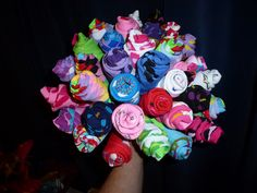 How about a sock bouquet? (DIY – Pics included!) - Weddingbee