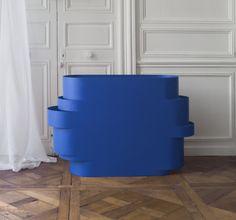 Banque d'accueil. Console. Design julien Vidame. VIDAME CREATION
