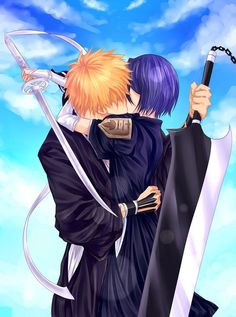 ichigo x rukia This is such a beautiful picture, and it looks so real but I know this is just to good to be true