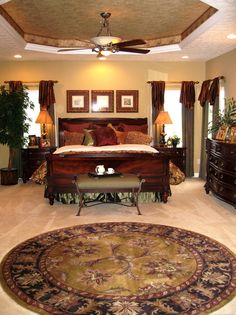 This elegant master bedroom was Designed & Furnished by Ruby Gordon Furniture