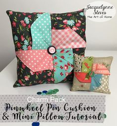 Sewing and Quilting- Free Projects & Tutorials - Jacquelynne Steves Scrap Fabric Projects, Fabric Scraps, Quilting Projects, Sewing Projects, Quilting Tips, Sewing Crafts, Craft Projects, Cushion Tutorial, Pillow Tutorial