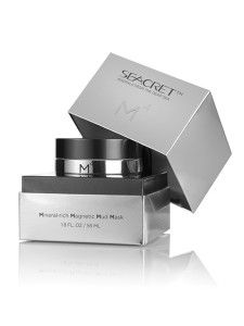 SEACRET coolest mud mask out there!  What other mask do you take off with a magnet??!! M4 Mineral Rich Magnetic Mud Mask