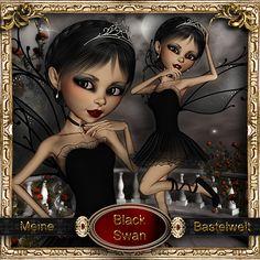 Meine Bastelwelt : Black Swan (600×600)