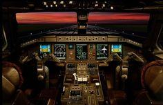 embraer erj-170 cockpit image