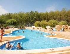 Camping L´Amfora, Sant Pere Pescador, Spain.