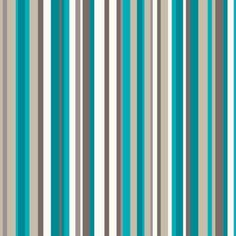 Sophia Stripe Wallpaper - Teal   Homebase