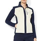 Lauren Ralph Lauren Zip Front Sweater