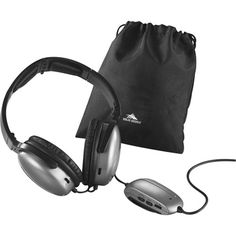 Are you looking for a spark to promote your business or company? Then look no further than the High Sierra Noise Cancellation Headphones. These headphones reduce noise level 12 decibels at 300 Hz. The 70 inch cable will plug into plane seats, MP3 players and computers. The headphones also come with padded earpieces to make for a comfortable fit. For your convenience you will also get 1 AAA battery, airplane adapter and gift pouch.