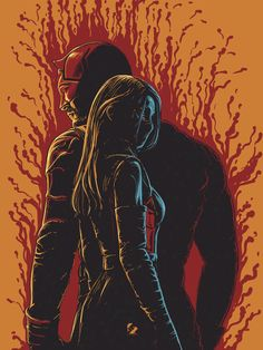 Daredevil and Elektra Created byJireh Ber Villafuerte