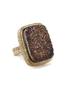 Marcia Moran Druzy Ring