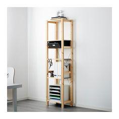IKEA   IVAR, 1 Element/planken/lades, Onbehandeld Massief Hout Is Een  Slijtvast Natuurmateriaal Dat Je Nog Duurzamer En Onderhoudsvriendelijker  Maakt Door ...