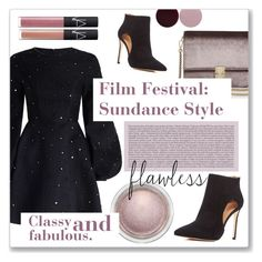 """""""Film Festival: Sundance Style"""" by julijana-k ❤ liked on Polyvore featuring Zimmermann, KC Jagger, Pour La Victoire, MAC Cosmetics, Nails Inc. and NARS Cosmetics"""
