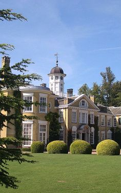 Polesden Lacey, the most visited National Trust property in the UK and just up the road.