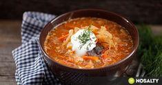 Húsmentes scsí recept képpel. Hozzávalók és az elkészítés részletes leírása. A húsmentes scsí elkészítési ideje: 110 perc Lunch Recipes, Soup Recipes, Recipies, Wellness, Menu Planning, Thai Red Curry, Chili, Vegan, Healthy