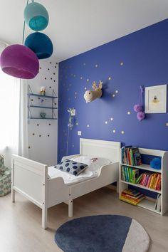 Création d'ambiance pour la chambre d'un garçon de 7 ans qui aime on