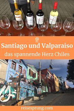 Santiago de Chile ist der ideale Ausgangspunkt für Ausflüge nach Valparaiso und in die Weinregion Valle de Maipo sowie für eine Weiterreise zu den spektakulären Sehenswürdigkeiten des Landes. #UrlaubChile #UrlaubSüdamerika #IndividualreiseChile #ReiseSantiagodeChile