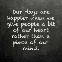 a piece of our heart rather than a piece of our mind|♥♥  Visit www.edenscorner.c... A Healthy Place To Visit  ♥♥ |
