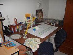 Pintura em Tecido Passo a Passo Com Fotos: Como fazer pintura em tecido-Consejos para pintar sobre tela. En portugues