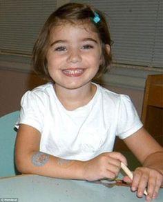 Caroline Previdi, 6, murdered at Sandy Hook Elementary. Heartbreaking.