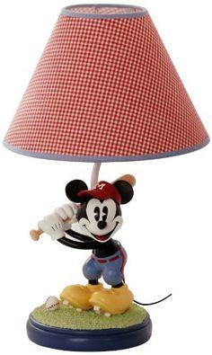 Disney Vintage Mickey Lamp Base and Shade $43.53