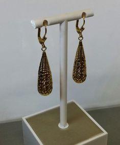 Ohrringe Ohrhänger Silber 925 vergoldet von Schmuckbaron auf Etsy