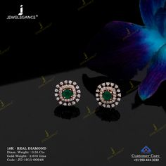 Precious Diamonds for your Precious Love. - Precious Diamonds for your Precious Love… Diamond Earrings Indian, Gold Jhumka Earrings, Indian Jewelry Earrings, Jewelry Design Earrings, Gold Earrings Designs, Gold Jewellery Design, Diamond Stud Earrings, Diamond Jhumkas, Geek Jewelry