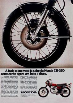 5316 - MOTORCYCLE - HONDA 1973 - CB-350 - A tudo o que você já s