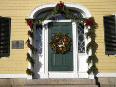 Front door of King Caesar House