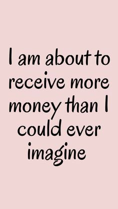 Daily Positive Affirmations, Positive Affirmations Quotes, Wealth Affirmations, Law Of Attraction Affirmations, Affirmation Quotes, Positive Quotes, Affirmations For Money, Motivacional Quotes, Manifesting Money