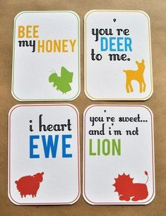 Playing Card as Valentines Day Card  Playing cards Markers and
