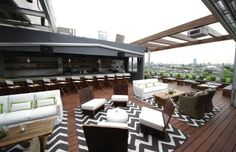 Jimmy at The James Hotel - The 25 Best Rooftop Bars in NYC | Complex