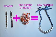 How to Stretch Your Jewelry -- You'll need bracelets and fabric scraps or ribbon.