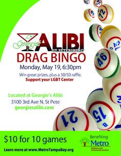 Drag Bingo for Metro Charities