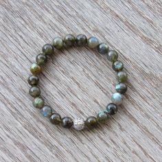 Genuine Labradorite Bracelet  Healing Bracelet  by BBTresors