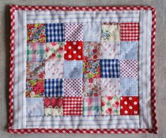 https://flic.kr/p/6Y8Ms7 | quilt for doll
