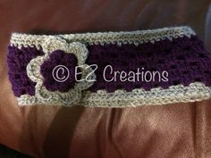 Granny Square Earwarmer headband