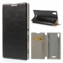 Capa Livro Sony Xperia T3 Faith Stand Preta 7,99 €