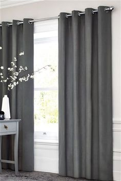 Buy Cotton Eyelet Lined Curtains from the Next UK online shop