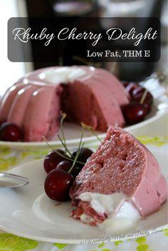 Rhuby Cherry Delight (Low Fat, THM E)