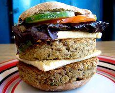 Hamburguesa vegana doble - double vegan burger