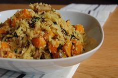 Pompoen bloemkool rijst